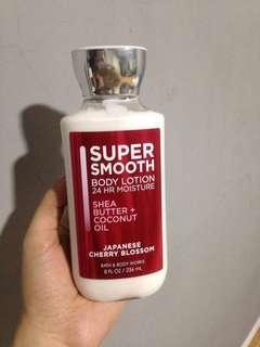 Bath & body works lotion