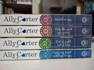 Ally Carter books collection