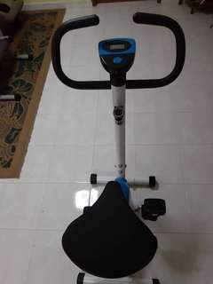 Home bicycle exercise