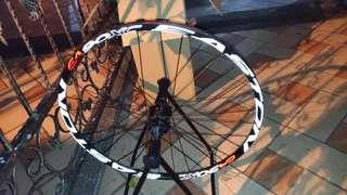 """Alex rims 26"""" with Easton Decals"""