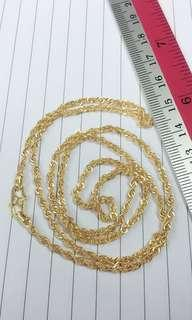 🚚 916 Gold Necklace