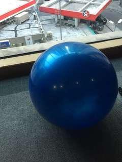 Fitball 瑜珈球(全新摺埋的,冇盒)(仲有銀色,粉紅色,紫色可供選擇)
