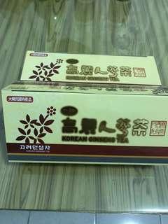 高麗人蔘茶(一盒或兩盒)