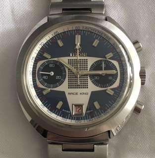 Like new Titoni Race King Blue Dial