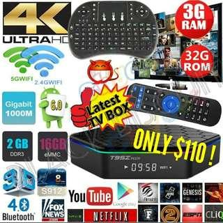 Lifetime No Subscription: Android Box T95Z Plus