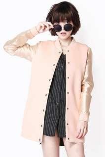 BN AForArcade Pitch Perfect Varsity Jacket in Pink (AFA)