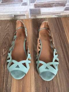 Rubi Flat Blue Soft Shoes