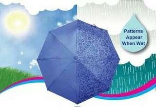 Payung 3D muncul motif jika basah