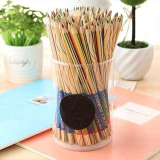 Free Mailing - 🏳️🌈 Rainbow Pencil - 4 in 1 Colored Pencil 🏳️🌈