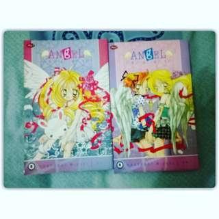 Angel hunt Vol 1 - 2 Complete series IDR 8000/set