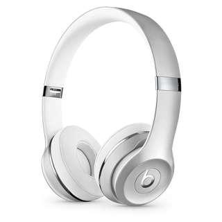 Silver Beats Solo3 Wireless
