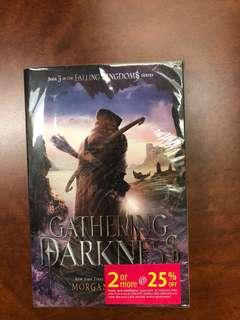 GATHERING DARKNESS Book 3 in the FALLING KINGDOMS series by MORGAN RHODES