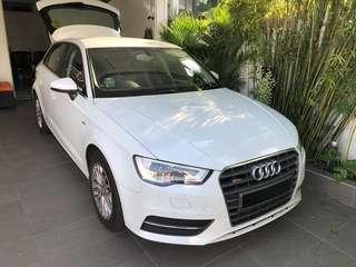 Audi A3 sportback car rental