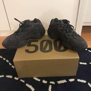 8bc12599f45b Adidas Yeezy 500 Black (pre-loved)