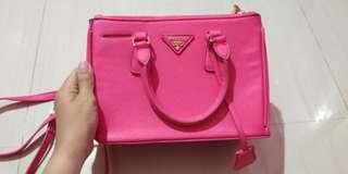 Sling Bag Pink Prada Milano