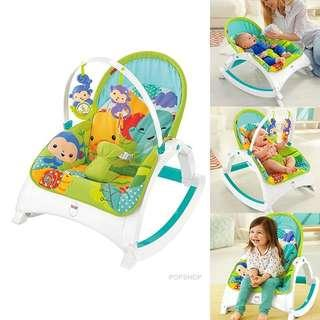 [PO] Fisher Price Infant-to-Toddler Rocker (Rainforest Friends)