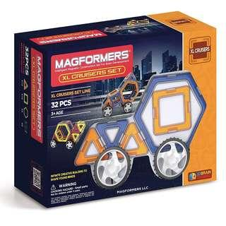 🚚 Magformers XL Cruiser Set