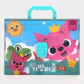 PinkFong Puzzle Set of 4 - Pink Fong