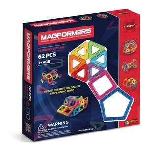 🚚 Magformers Standard set 62 pieces
