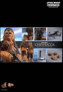 *MISB* Hot Toys STAR WARS: THE FORCE AWAKENS CHEWBACCA