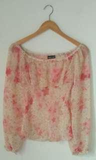 Flower blouse sabrina