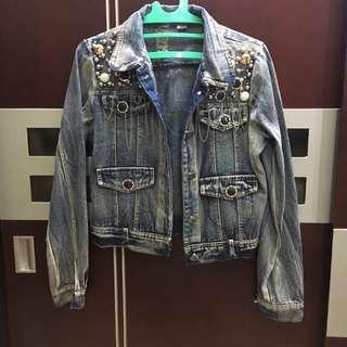 jeans jacket modif L PUPUwear