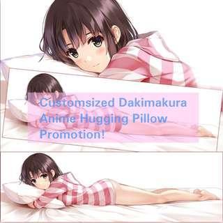 Custom Order Dakimakura Anime Hugging Pillow Body Pillow Cover Casing #next30