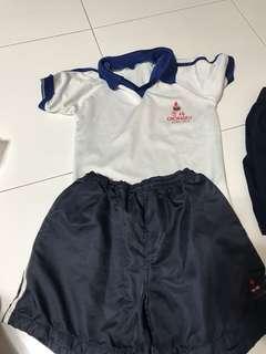 Chongfu boy uniform