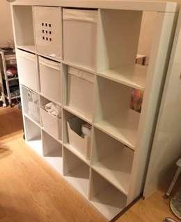 IKEA KALLAX Shelves Oak