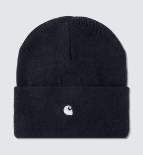 Carhartt WIP 深藍色毛帽