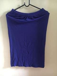 Skirt blue gaudi