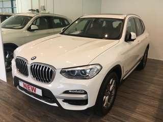 BMW X3 xDrive30i Luxury Line (A)