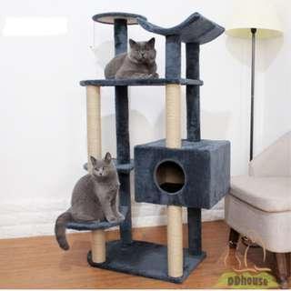 [Flash Deal ] Newly designed Cat Scratching Post / Cat Condo / Cat Furniture / Cat Tree / Cat Climbing Tree