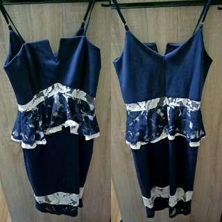 Mds peplum dress