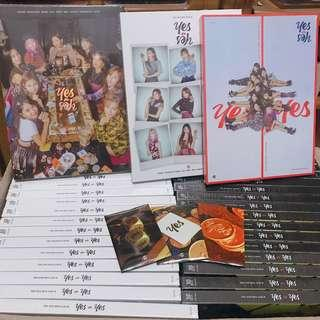 💗INSTOCK💗 TWICE YES OR YES   VERSION A/B/C