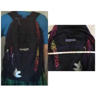 Original Jansport Wasabi Zebra Backpack