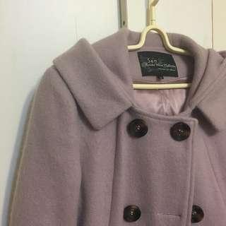 🚚 【衣服】SEN門市/淡紫色大衣