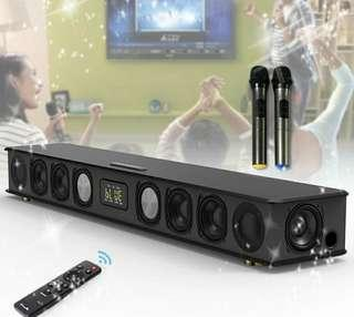 🎄Jy Home karaoke HIGH-END soundbar(120W)