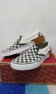 Vans Slip on (Gum Block) Checkerboard Original