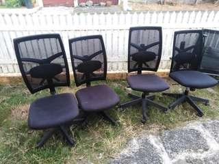 4 pcs office chair
