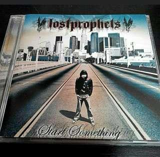 LOST PROPHETS - START SOMETHING CD