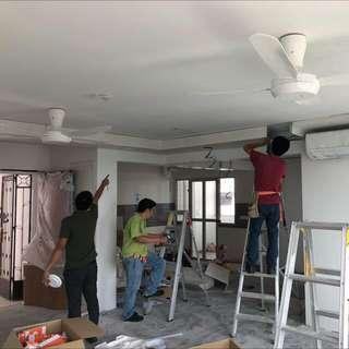 Cheap electrical work and direct contractor Renovation services