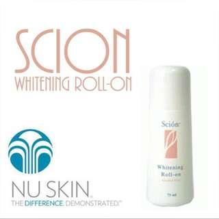 Scion Whitening Roll On deodorant