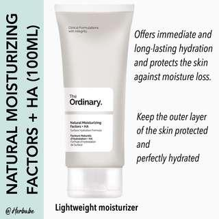 ❇️READY STOCK & NEW THE ORDINARY NATURAL MOISTURIZING FACTORS 100ML