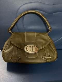 Authentic Dior leather bag,80%new,good conditions as pic,size 25*20*8cm