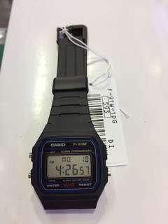 Bn Casio Digital Watch (Army) F-91W