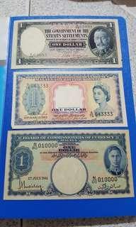 Old.malaya note money