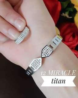 Gelang n cincin titanium cantik murah