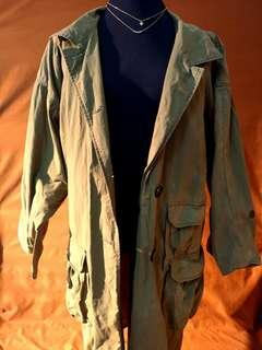 Acne Green Parka/Winter Coat