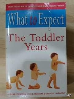Pregnancy Book: What To Expect - The Toddler Years